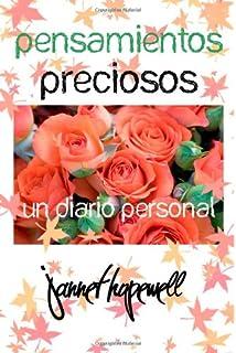 PENSAMIENTOS PRECIOSOS: UN DIARIO PERSONAL (Spanish Edition)