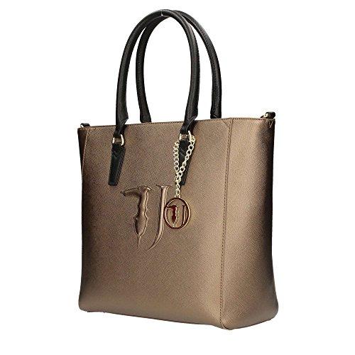 Shopping Bag Trussardi Jeans Bronzo