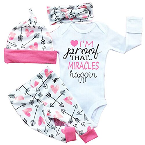 gllive-baby-girls-clothes-long-sleeve-miracles-romper-outfit-pants-set-hat-headband-0-6-months-pink