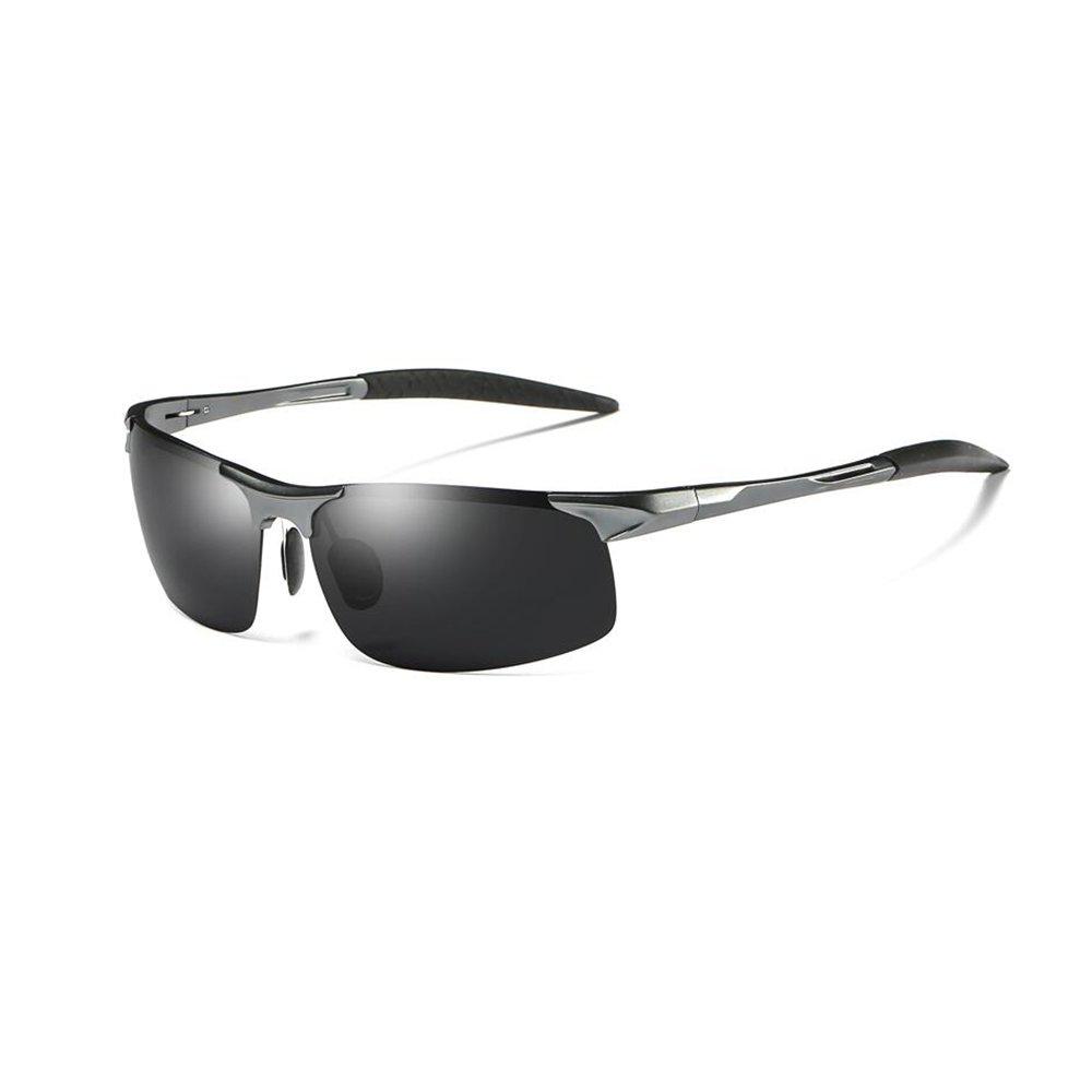 YQQ-Gafas de sol Polarizadas Gafas De Deporte Gafas De Sol para Hombre Gafas Personalizadas Gafas De Sol De Conducción De Alta Definición Anti-UV Anti ...