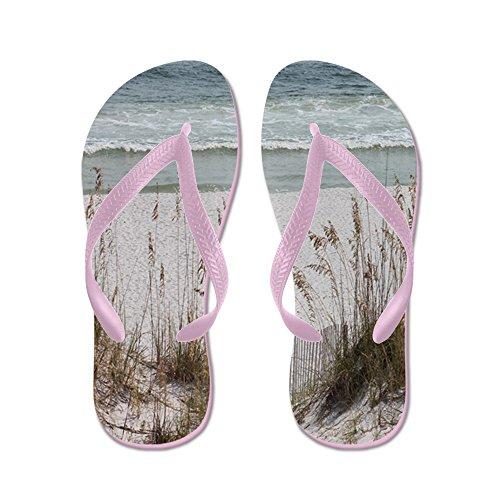 Spiaggia Sabbiosa - Infradito, Sandali Infradito Divertenti, Sandali Da Spiaggia Rosa
