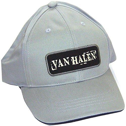 Eddie Van Halen 5150 - Van Halen Patch Logo 5150 Grey Baseball Hat Cap
