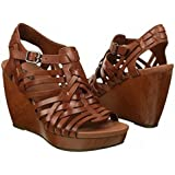 Dr. Scholl's Women's Maeve Brown Wedge Sandal