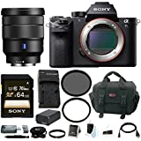 Sony Alpha a7SII Mirrorless Digital Camera with 16-35mm Lens and 64GB SDXC Accessory Bundle