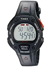 Timex Men's T5H581 Ironman Classic 30 Full-Size Black Resin Strap Watch