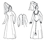 Medieval Kirtle (Kyrtle) Pattern