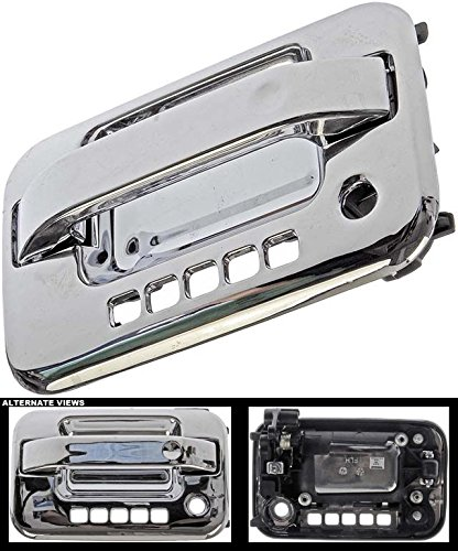 Door Handle Lincoln Mark - APDTY 02184 Exterior Chrome Door Handle Fits Front Left (Driver Side Front) 2004-2014 Ford F-150 & 2006-2008 Lincoln Mark LT; MUST HAVE KEYLESS ENTRY (Replaces 6L3Z1522405ABCH, CL3Z1522405AA)