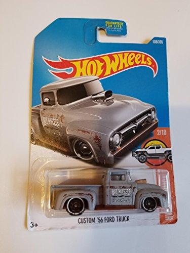 Hot Wheels 2017 HW Hot Trucks Custom '56 Ford Truck 108/365, Gray
