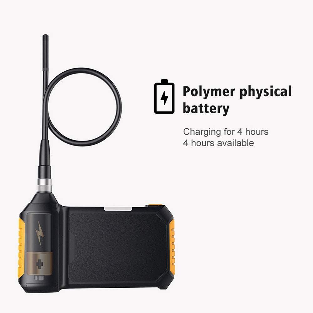 LittleMokey HD 1080P Pantalla LCD de 4,3 Pulgadas IP67 Resistente al Agua Inspecci/ón de endoscopio Industrial Digital Soporte de c/ámara para Android y iOS Smartphone 1M Hard