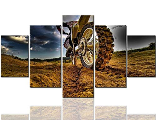 Motorcycle Wall - 4