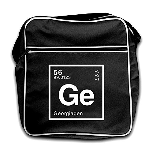 Dressdown Red Flight Retro Periodic Element Black Bag Georgia r1wOYaqnAr