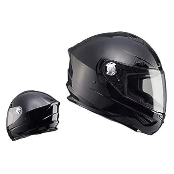 XC Casco De Moto Racing Casco Modular Cara Completa, Doble Propósito Resistente Al Desgaste De