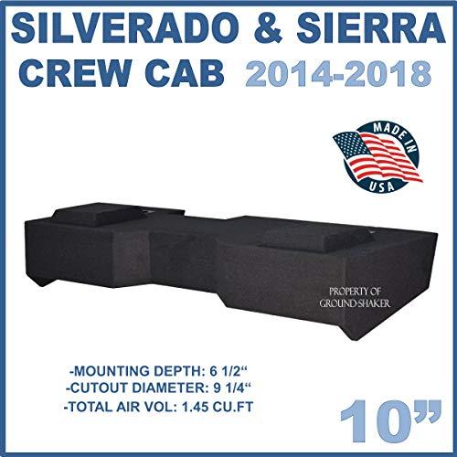 Fits Chevy Silverado & Gmc Sierra Crew-Cab 2014-2018 10
