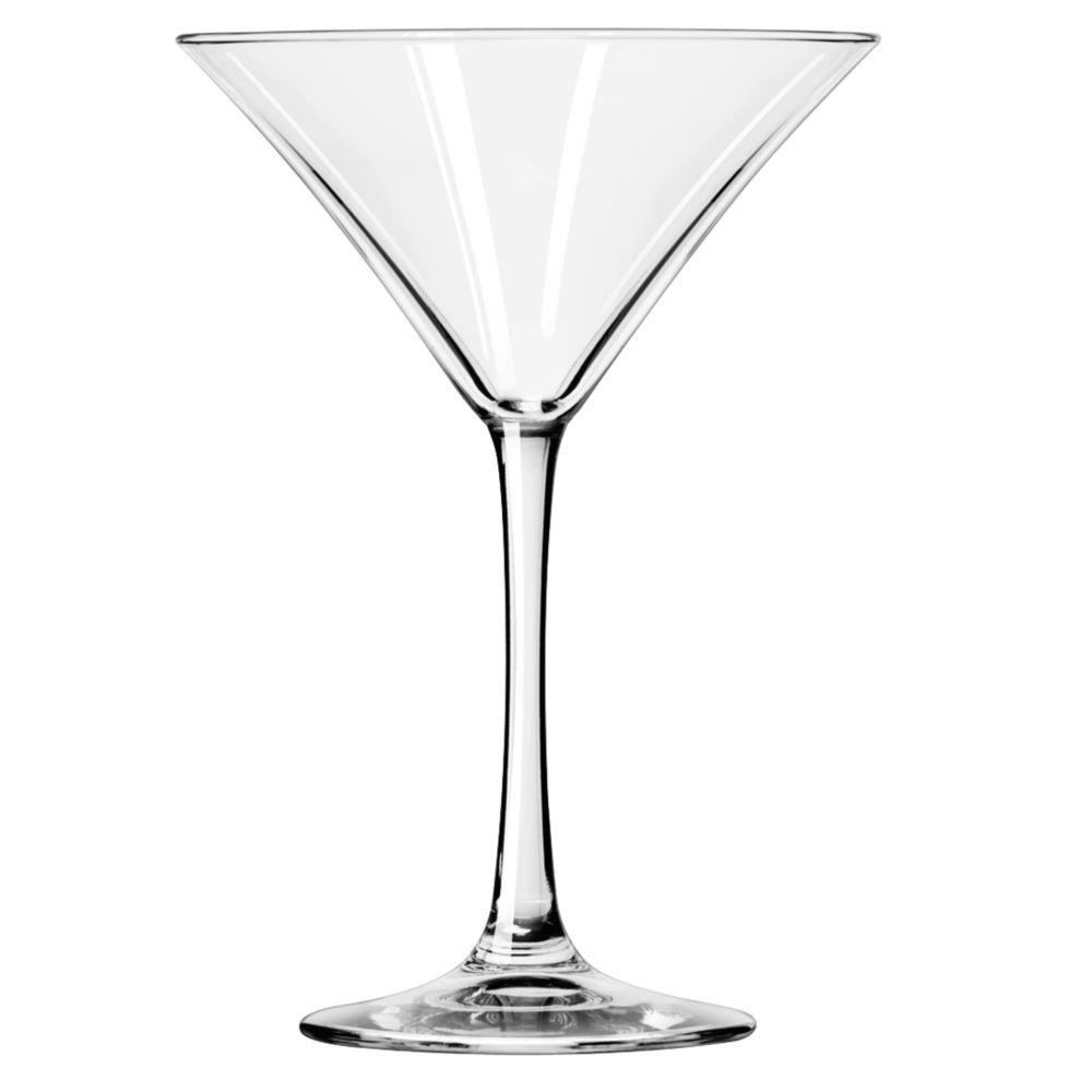 Libbey Glassware 7512 Vina Martini Glass, 8 oz. (Pack of 12)