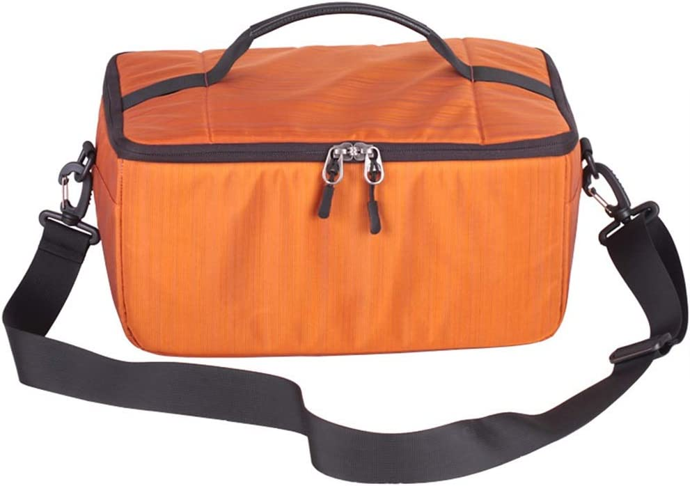 Waitousanqi Large-Capacity SLR Accessory Bag Digital Camera Bag SLR Camera Nylon Material Lining Bag Waterproof Dropproof //33 X 23 X 16cm A15