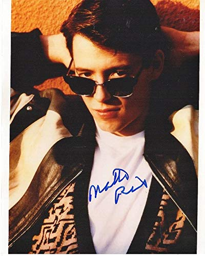 Matthew Broderick Signed - Autographed FERRIS BUELLER'S DAY OFF 8x10 inch Photo - Guaranteed to pass BAS or - JSA Certified