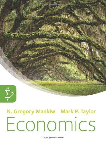 Economics N Gregory Mankiw Mark P Taylor 9781408093795 Amazon Com Books