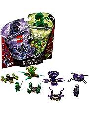 LEGO NINJAGO Spinjitzu Lloyd vs. Garmadon 70664 Building Kit, 2019 (208 Pieces)