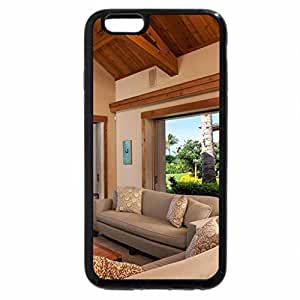iPhone 6S / iPhone 6 Case (Black) View of the garden