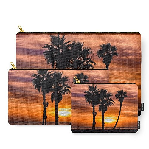 Sunday Set Palm (Society6 Palm Sunday Carry-All Pouch Set of 3)