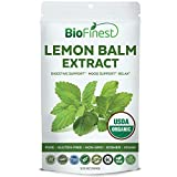 Biofinest Lemon Balm Extract Powder – USDA Certified Organic Pure Gluten-Free Non-GMO Kosher Vegan Friendly – Herb Supplement for Calming, Mood Uplifting, Skin Health, Digestion (100g) Review