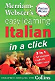 Merriam-Webster's Easy Learning Italian in a Click, Merriam-Webster, Inc. Staff, 0877795614