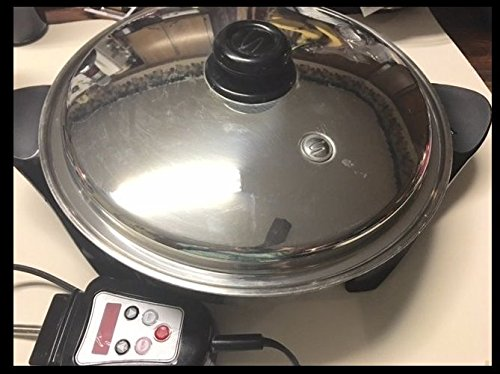 """12 """" Oil Core Electric Skillet"""