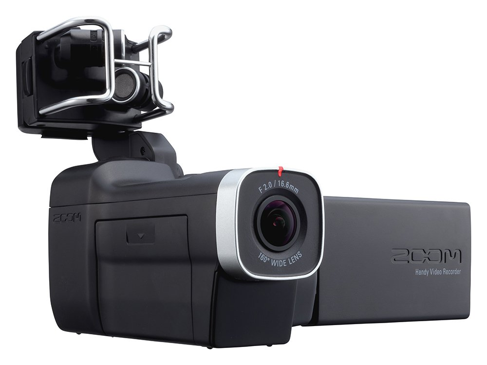 ZOOM ズーム ハンディビデオカメラレコーダー Q8 専用バッテリーセット B0756YHHVB