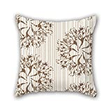 PILLO pillowcover of leaf 16 x 16 inches / 40 by 40 cm,best fit for bar,kids room,husband,couples,divan,boy friend twin sides
