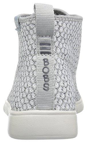Skechers Bob Da Donna Pureflex 2-knockoutz Flat Bianco / Grigio