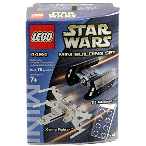LEGO Star Wars #4484 Mini X-Wing Fighter & TIE Advanced]()