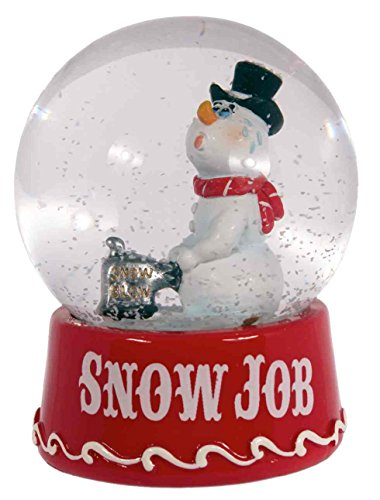 Crooked Snowman Snowglobe