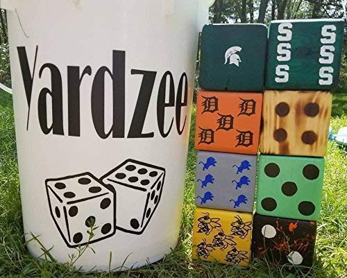 Order by 12//15 for Christmas delivery! Yardzee Wooden Custom Hand Painted with Your Design