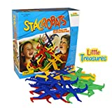 Little Treasures Stacrobats Fun Family Game of Action and Stacking Great Game To interact with Family and Friends for Weekends and Holidays