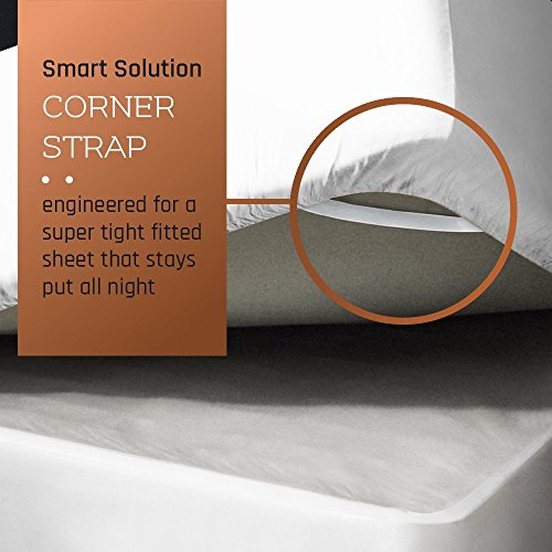 Premium Full (Double) Size Sheets Set - White Hotel Luxury 4-Piece Bed Set, Extra Deep Pocket Special Super Fit Fitted Sheet, Best Quality Microfiber Linen Soft & Durable Design + Better Sleep Guide by Empyrean Bedding (Image #2)