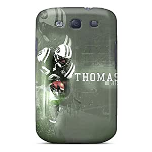 Perfect Cell-phone Hard Covers For Samsung Galaxy S3 With Allow Personal Design Fashion New York Jets Series ErleneRobinson