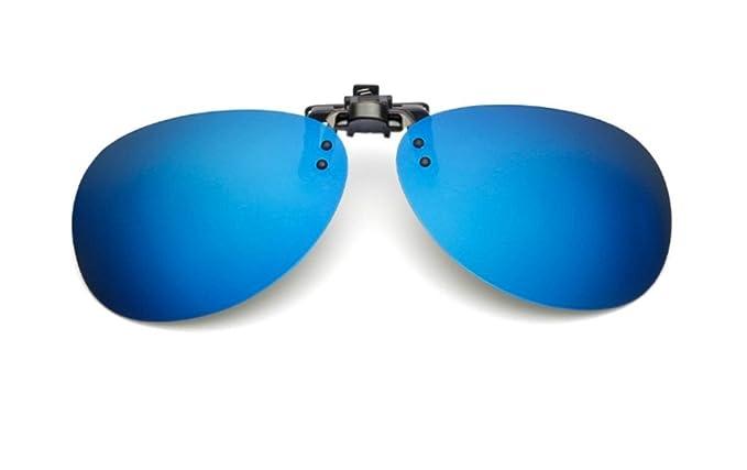 uk1stchoice-zone Hombre Mujer Unisex Flip-up Polarizado Clip en Las Gafas de Sol CLIPON1304