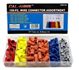 Cal-hawk Wire Connectors - 158 Pieces, with Plastic Storage Case by CTT Tools