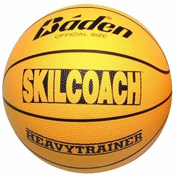 Baden Skilcoach - Pelota de Baloncesto, tamaño 6, Color Amarillo ...
