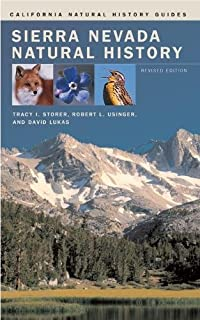 Birds of the Sierra Nevada: Their Natural History, Status, and