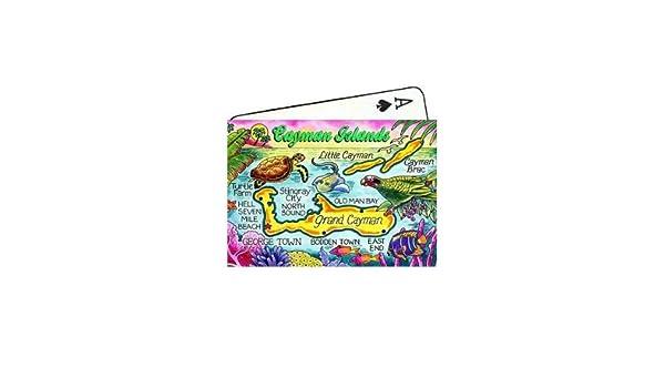 Carte des îles Caïmans Souvenir de collection de cartes à ...