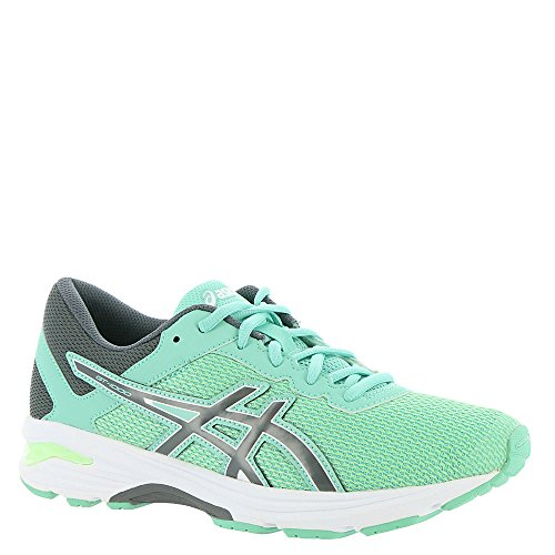ASICS GT-1000 6 GS Kid's Running Shoe. Patina Green/Carbon/Opal Green, 6.5 M US Big Kid by ASICS (Image #6)