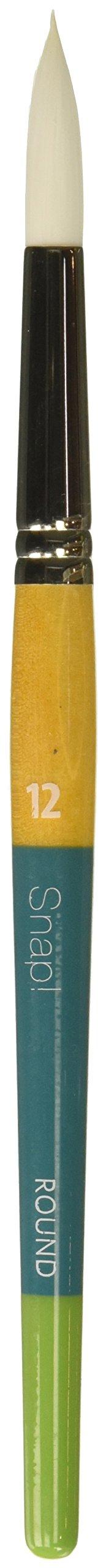 Princeton 9850R-12 SNAP Brush White TAKLON Round 12 Size