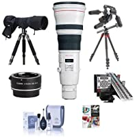 Canon EF 800mm f/5.6L IS USM Lens Bundle. USA. Value Kit with Acc #2746B002