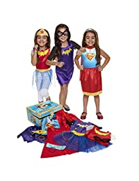 DC Super Hero Girls DCSHG 21 Piece Dress-Up Trunk