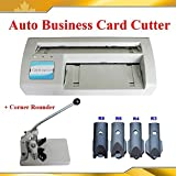 Electric Business Card Slitter +Corner Rounder Machine R3/4/6/8/10