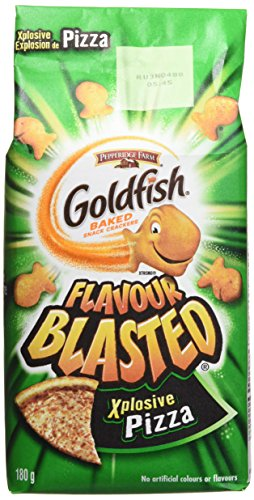 - Pepperidge Farm Goldfish Flavour Blasted Xplosive Pizza, 180g/6.34 Ounces {Imported from Canada}