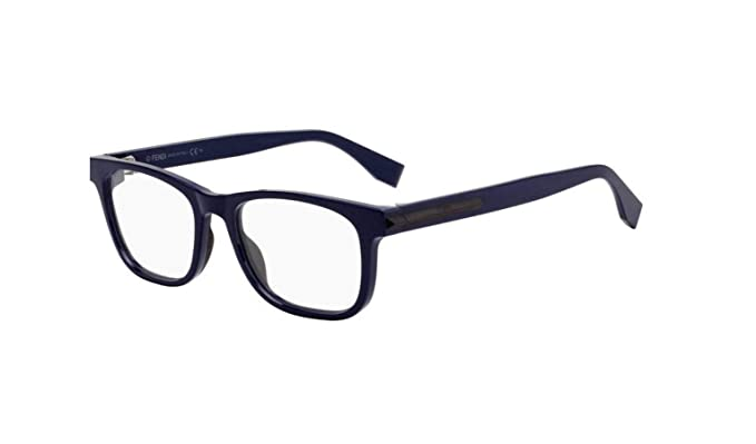 a60693b2ef1 Amazon.com  Fendi FF M0037 PJP Eyeglasses Dark Blue Frame 52mm  Clothing