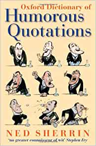 the oxford dictionary of quotations new edition