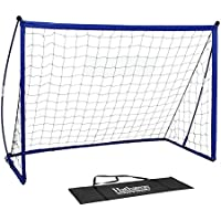 Hathaway Striker Portable Soccer Goal System with Black...